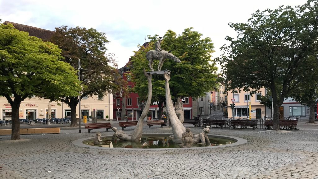 Bodenseereiter Fountain