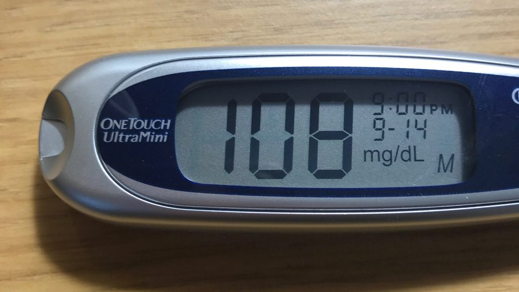 Blood Sugar 108