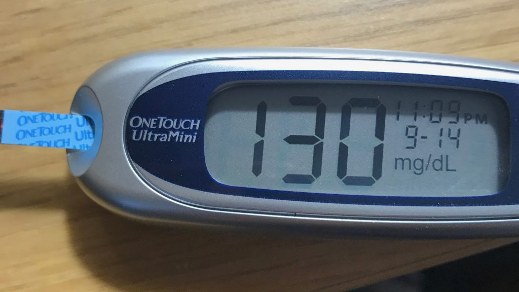 Blood Sugar 130