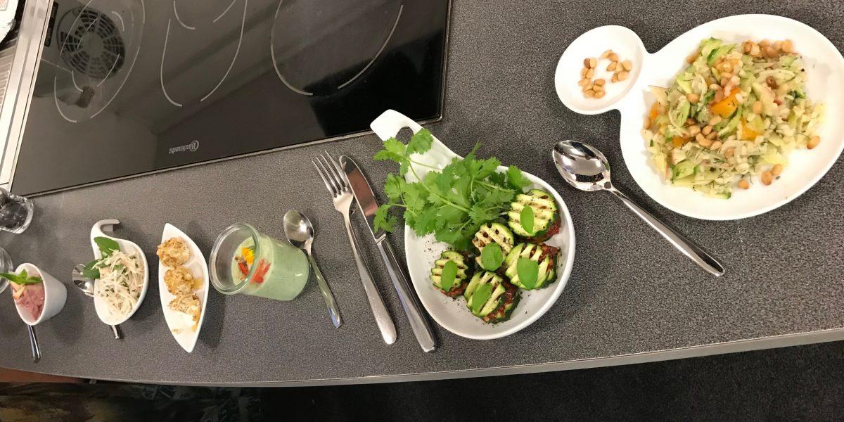 Days 12-15 – Resisting food temptation around us!